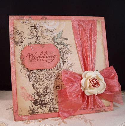 Square Wedding Cards