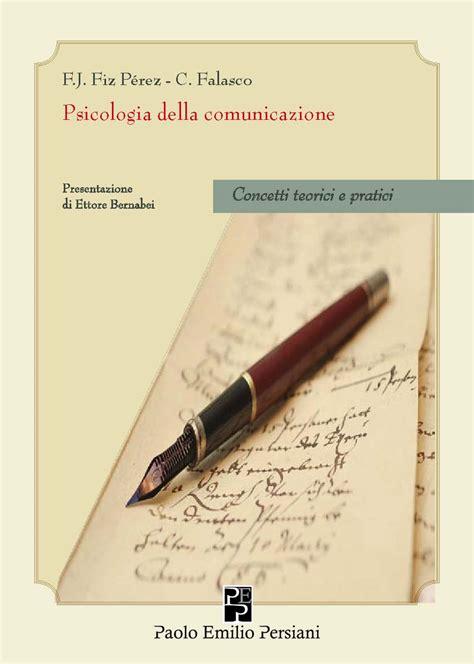 persiani editore psicologia della comunicazione gruppo persiani editore