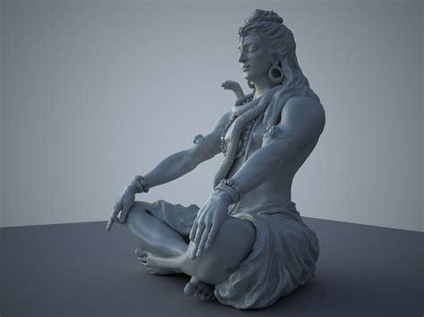 Lord Shiva 3d Model Free http www turbosquid 3d models 3d max lord shiva
