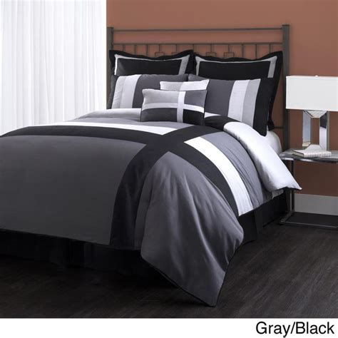 lush comforter set lush decor isa 8 piece comforter set