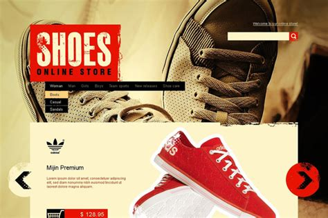 Shoe Websites by Website Designs For Shoe And Shoelace Stores