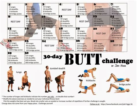 30 day workout challenges search fitness