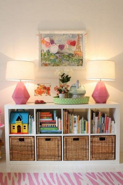 ikea kids storage genius idea ikea expedit shelves with baskets for storage