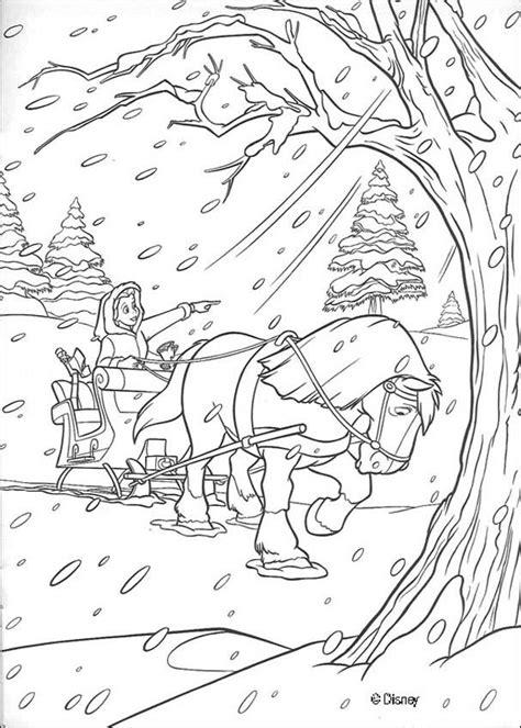 Snowstorm coloring pages - Hellokids.com