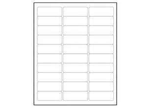 6000 blank 1 x 2 5 8 address labels downloadable label template