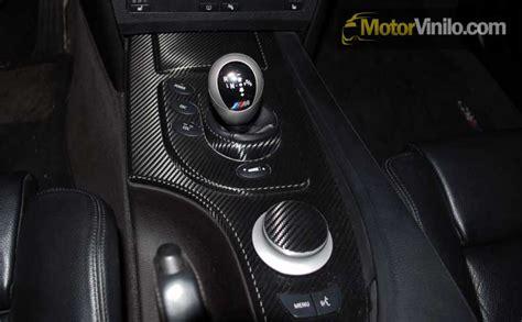 decorar interior auto molduras interiores del coche con vinilo carbono