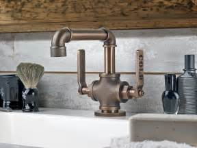 industrial style faucets industrial style faucets by watermark to give your plumbing the cool look you always wanted