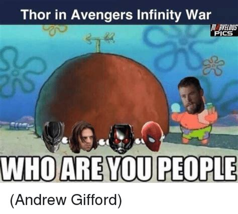 Who Are You People Meme - search avengers infinity war memes on me me