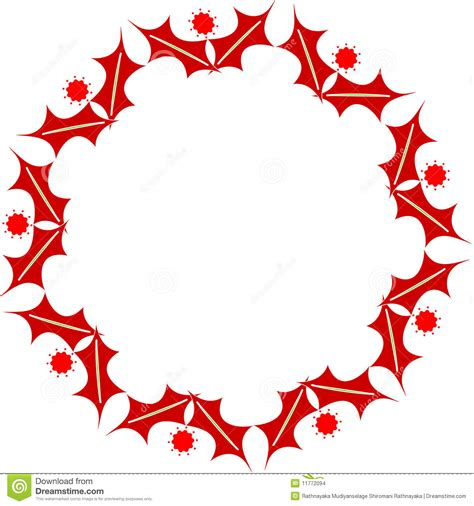 oval christmas frames oval frame stock images image 11772094