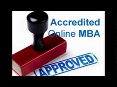 Accredited Mba by Accredited Mba