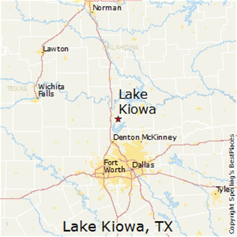 lake kiowa texas map best places to live in lake kiowa texas