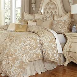 Designer Bed by Luxembourg Luxury Bedding Set Michael Amini Bedding