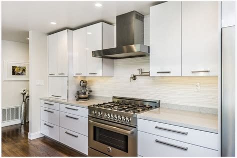 2015 modern kitchen furnitures high gloss white lacquer
