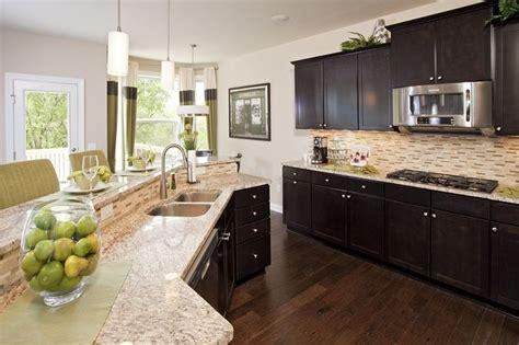 how to brighten up a dark kitchen hidden bluffs bloomington mn new homes pulte homes
