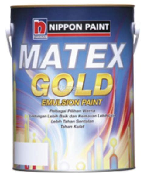 nippon paint matex gold 5l interior end 10 8 2017 11 00 am