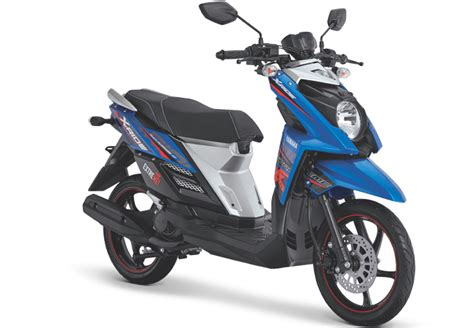 Lu Yamaha X Ride galeri warna dan striping yamaha x ride 115cc tahun 2016aksesoris bag us striping motor