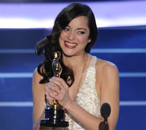 film oscar marion cotillard oscars 20 most memorable academy awards acceptance