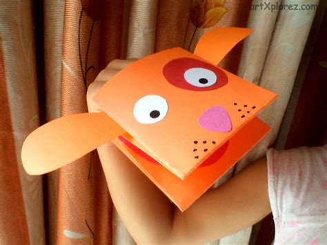 How To Make A Puppet Using Paper - paper puppets artxplorez