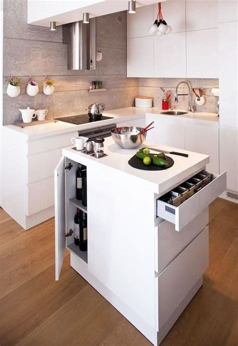 kitchen island small space 25 mini kitchen island ideas for small spaces digsdigs