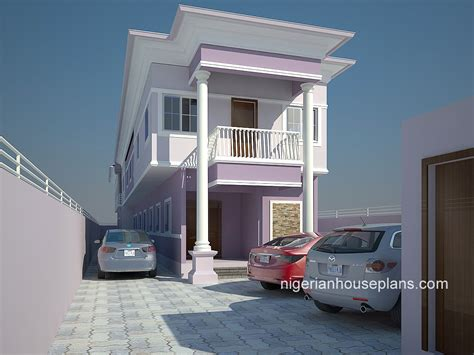 2 bedroom duplex 2 bedrooms archives nigerianhouseplans