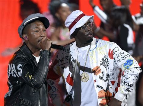 Pharrell joined Diddy on stage to debut their new song ... P Diddy Song 2015