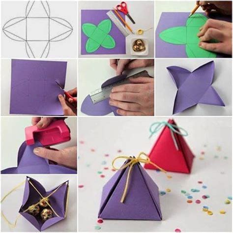 How To Make Handmade Paper Gift Boxes - wonderful diy handmade gift box
