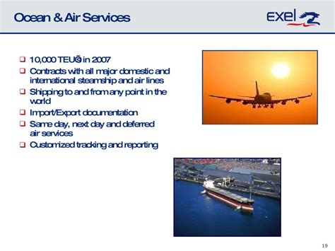 exel transportation 2010