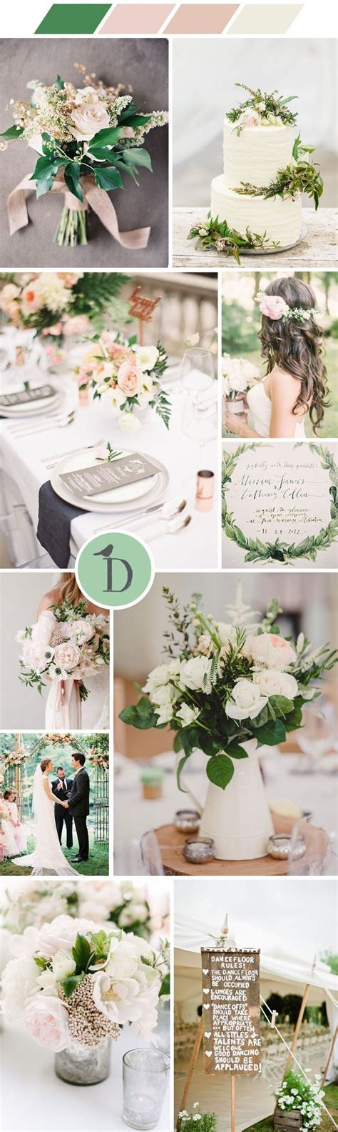 Best 25  Pink green wedding ideas on Pinterest   Blush