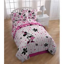 Minnie Mouse Bedding Sets Disney Minnie Mouse Bedding Sheet Set Walmart