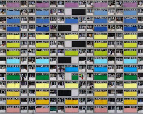 layout and density of building vertigo inducing photos of hong kong housing show just how