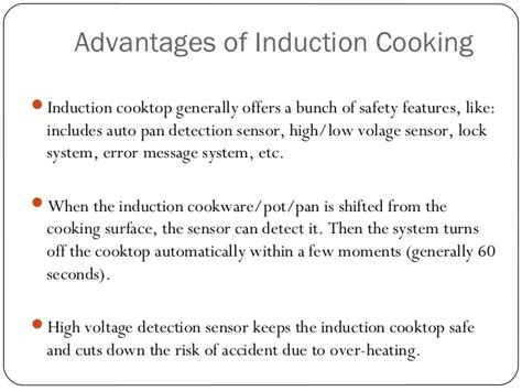 induction heating limitations what is induction cooking