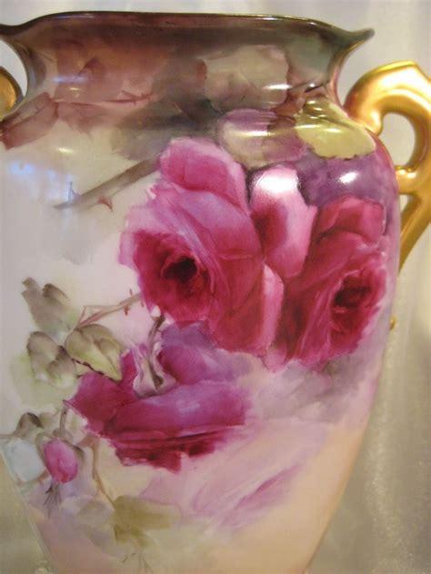 antique porcelain l with roses 1000 images about porcelain vases on pinterest vienna