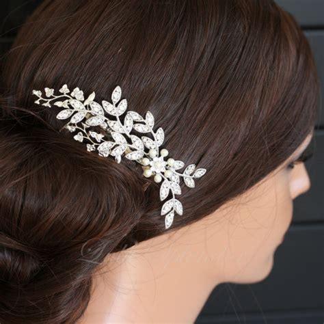 Wedding Hair Accessories Selfridges by Wedding Hair Accessory Leaf Comb By Lulusplendor