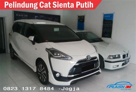 Cover Pelindung Mobil Sienta Berkualitas pelindung cat mobil baru warna putih jogja pelindung cat mobil motor jogja 082313178484