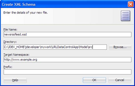 oracle tutorial create schema oracle jdeveloper 11g release 2 tutorials using a url