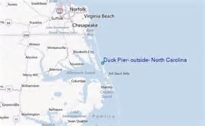 duck pier outside carolina tide station location guide