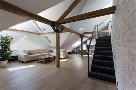 Attic Loft | attic loft reconstruction b 178 architecture archdaily