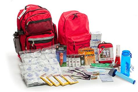 22 In 1 Personal Survival Kit With Flint Rod lifestraw go with 4 person deluxe survival kit import it all