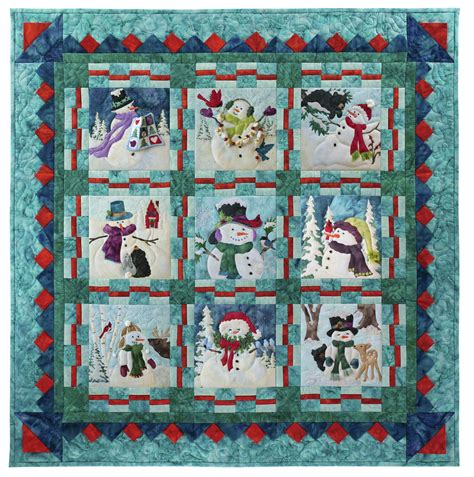 snow buds by mckenna frosted flakes quilt pattern