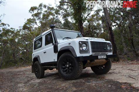 land rover defender off road land rover defender 90 review performancedrive