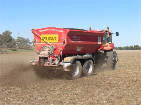 compost spreader high quality compost blends regyp recycling solutions