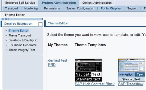 sap theme editor download sap portal theme
