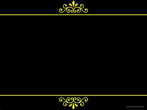 Royal Border Background Powerpoint Background Wedding Ppt Templates Free Border Green