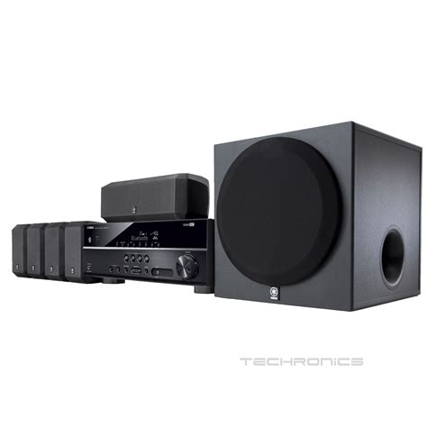 1 Unit Home Theater yamaha yht 3920ubl home theater bluetooth 5 1 channel speaker system powered sub