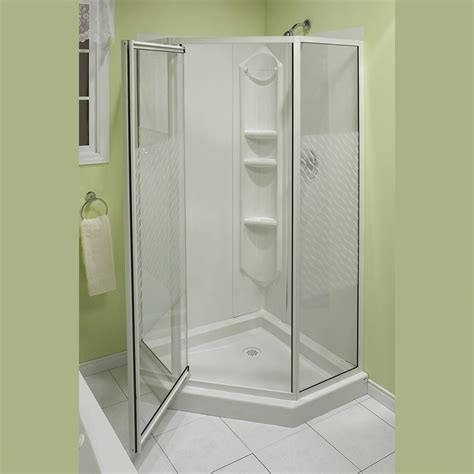 bathroom shower stalls lowes buy corner shower stall kits from lowes useful reviews