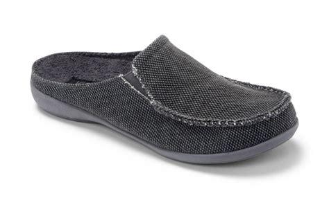mens indoor outdoor house shoes vionic taunton mens indoor outdoor canvas slippers ebay