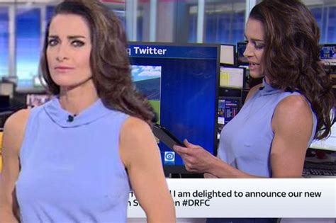 Tv News Wardrobe by Kirsty Gallacher Appears To Suffer Sky Sports News