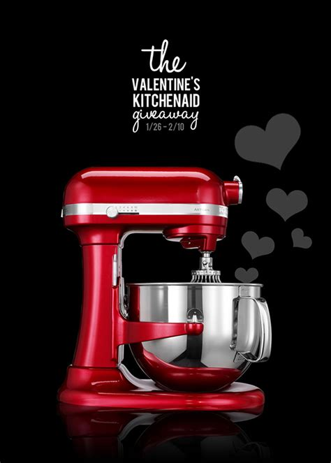 Great Grocery Giveaway Enter Pin - valentine s day kitchenaid giveaway enter by 2 10 home cooking memories