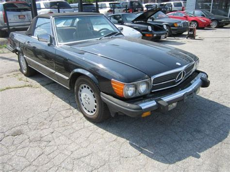 how cars run 1987 mercedes benz sl class parental controls find used 1987 mercedes benz 560 sl convertible in scarborough ontario canada