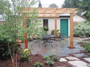 Flagstone Patio With Pergola pergola on flagstone patio landscaping pinterest